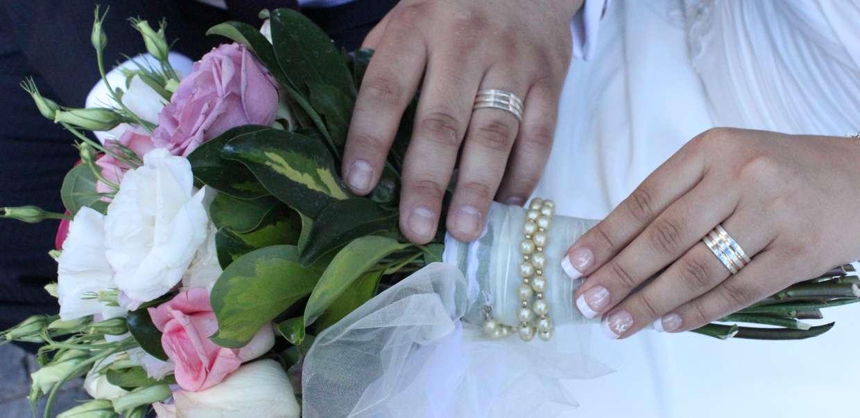 Novios o Casados con anillo